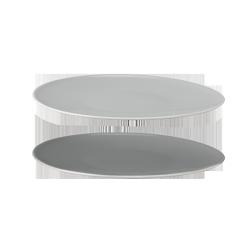 Stelton EMMA Talerze 22 cm - Szare