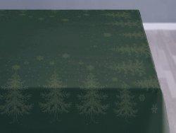 Sodahl CHRISTMAS WINTERLAND Obrus Świąteczny na Stół 150x270 cm Zielony