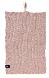ZONE Denmark KITCHEN Ścierka - Ręcznik Kuchenny 50x38 cm Nude Różowy