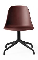 Menu HARBOUR SIDE Krzesło Obrotowe - Rama Czarna - Siedzisko Bordowe