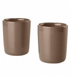 ZONE Denmark SINGLES Kubki Termiczne 300 ml 2 Szt. Ceglaste
