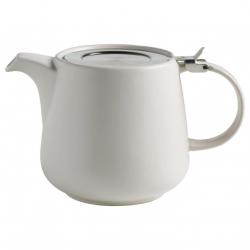 Maxwell Williams TINT Dzbanek do Herbaty z Zaparzaczem 1200 ml Biały