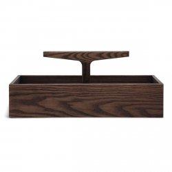 Ro Collection TOOLBOX NO. 4 Organizer Drewniany - Ciemny