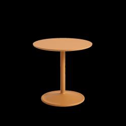 Muuto SOFT SIDE Stolik Okrągły 48 cm Pomarańczowy / Blat 48 cm Laminat
