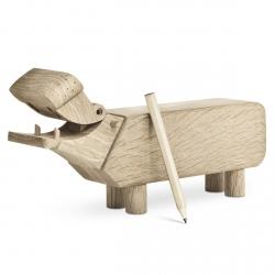 Kay Bojesen HIPPO Drewniana Figurka Hipopotam