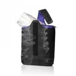 Menu COOL LUNCH Torba Termiczna z Wkładem Chłodzącym - Czarna + Fiolet