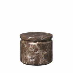 Blomus PESA Pojemnik Marmurowy - Brązowy Marmur