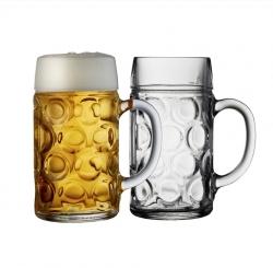 Lyngby Glass BAR Kufel do Piwa 1 l - 2 Szt.
