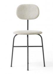 Menu AFTEROOM Krzesło Czarne Tapicerowane - Tkanina Maple 222