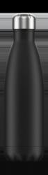 Chilly's MONOCHROME Stalowa Butelka Termiczna 500 ml Czarna