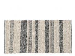 A Simple Mess STRIB Chodnik - Dywan 90x180 cm Szary w Paski
