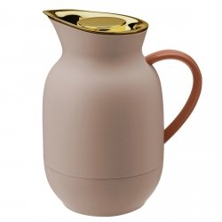 Stelton AMPHORA Termos do Kawy 1 l Brzoskwiniowy
