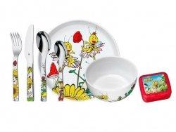 WMF Zestaw dla Dzieci - Sztućce + Porcelana MAJA + Pudełko