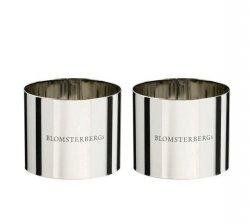 Blomsterbergs KITCHEN Stalowy Ring - Forma do Deserów 6 cm 2 Szt.