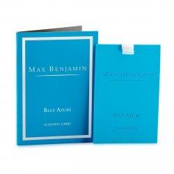Max Benjamin CLASSIC Zawieszka - Karta Zapachowa - Blue Azure