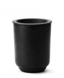 Morso PLATEAU Porcelanowy Pojemnik Kuchenny 0,8 l Czarny Matowy