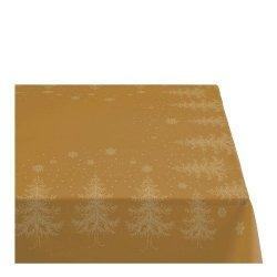Sodahl CHRISTMAS WINTERLAND Obrus Świąteczny na Stół 150x370 cm Złoty