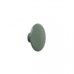 Muuto DOTS Wieszak Drewniany XS - 6.5 cm Zielony Dusty Green
