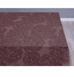 Sodahl MODERN ROSE Obrus na Stół 140x370 cm Bordowy Bery/Wine