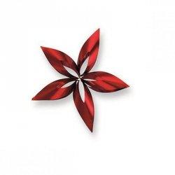Philippi STELLA Zawieszka Świąteczna 12 cm Gwiazda Czerwona