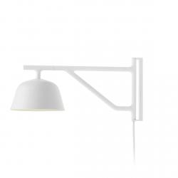 Muuto AMBIT Lampa Ścienna - Kinkiet Biały