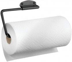 Home MODERN Uchwyt Ścienny na Ręcznik Papierowy - Czarny