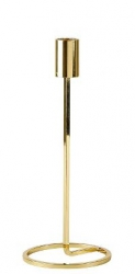 Villa Collection NORDIC Świecznik 23 cm Złoty