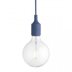 Muuto E27 Lampa Żarówka LED Jasnoniebieska