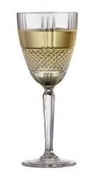 Lyngby Glass BRILLANTE Kryształowe Kieliszki do Białego Wina 230 ml 4 Szt.