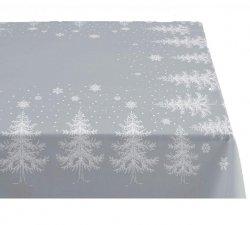 Sodahl CHRISTMAS WINTERLAND Obrus Świąteczny na Stół 150x180 cm Szary