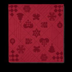Rosendahl NATALE Serwetki Świąteczne 45x45 cm 4 Szt. Czerwone