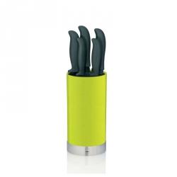 Kela ACIDA Komplet Noży Kuchennych w Bloku - Zielony