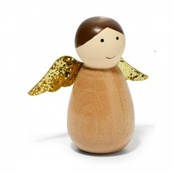 Philippi FRIDA Aniołek Świąteczny - Brązowy