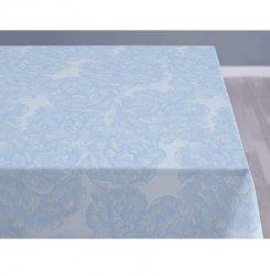 Sodahl MODERN ROSE Obrus na Stół 140x370 cm Jasnoniebieski - Linen Blue