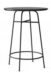 Menu AFTEROOM Stół Okrągły 68 cm, wysoki 92 cm - Czarny Laminat