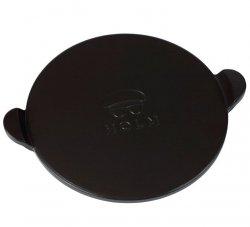 Holm BBQ Ceramiczny Talerz - Kamień do Pizzy 33 cm Czarny