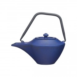 Kitchen Craft TEA Dzbanek Żeliwny 450 ml Niebieski