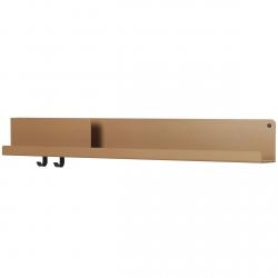 Muuto FOLDED Organizer - Półka Ścienna 96 cm Pomarańczowa