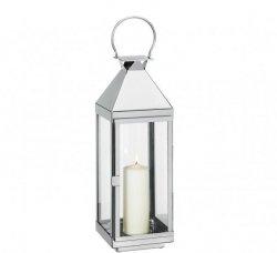 Cilio VILLA Lampion 60 cm Srebrny