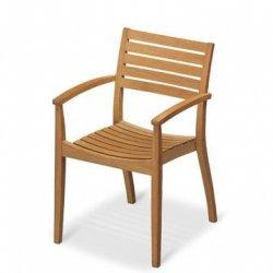 Skagerak BALLARE Krzesło Fotel - Drewno Tekowe