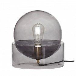 Hübsch GLASS Lampa Stołowa - Szara