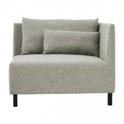 House Doctor BOX Sofa Modułowa Narożna - Szara (Grey Melange)