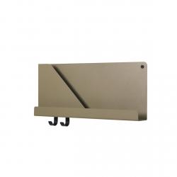 Muuto FOLDED Organizer - Półka Ścienna 51 cm Oliwkowa