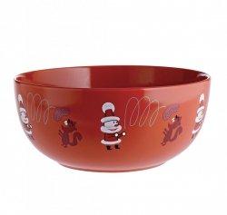 A di Alessi GET NUTS! Świąteczna Misa na Orzechy, Owoce - Czerwona