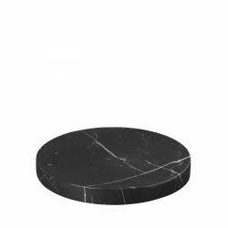 Blomus PESA Taca - Podstawka Marmurowa 19 cm Czarny Marmur