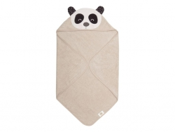 SÖDAHL Penny Panda Ręcznik z Kapturem dla Dzieci 80x80 cm Miś Panda