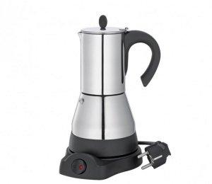 Cilio LISBOA Kawiarka Elektryczna 200 ml - Stalowa
