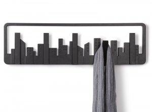 Umbra SKYLINE Wieszak Ścienny na Odzież - Czarny