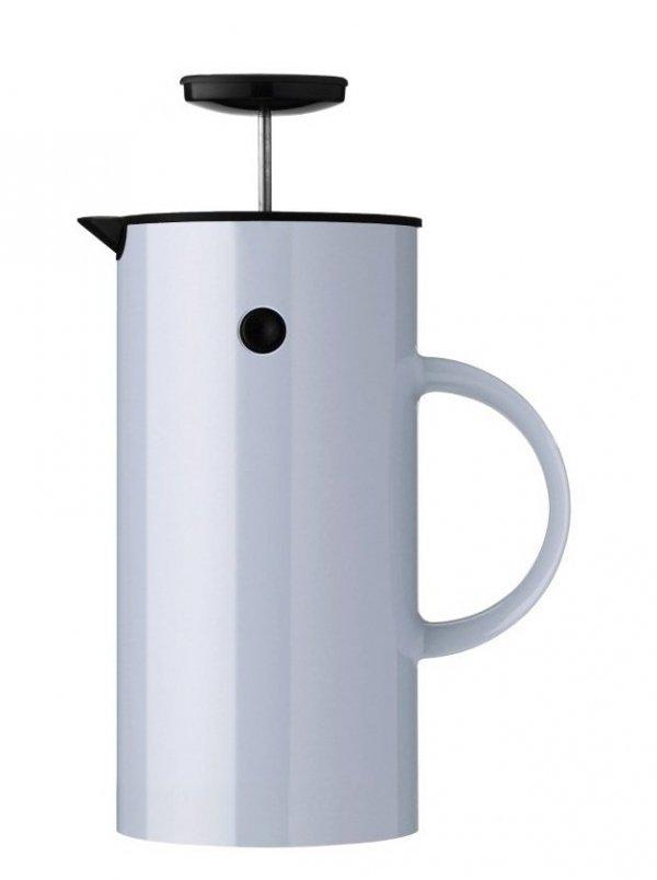 Stelton EM77 Zaparzacz Tłokowy do Kawy typu French Press - Niebieski Cloud