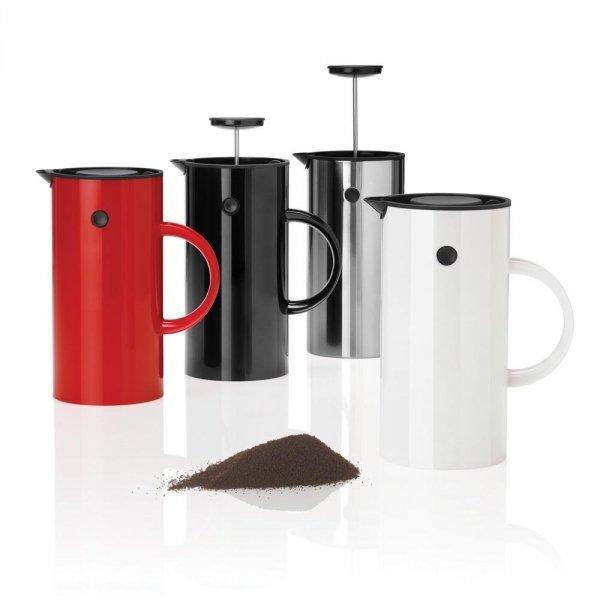 Stelton EM77 Zaparzacz Tłokowy do Kawy typu French Press - Biały